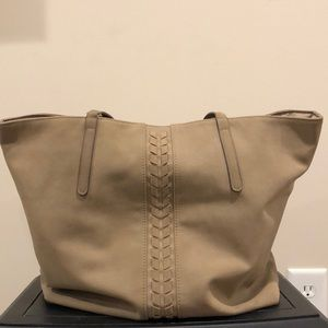 Handbags - Beautiful tan suede purse